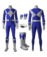 Mighty Morphin Power Rangers Tricera Ranger Zyuranger Cosplay Costume