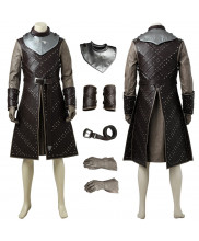 Game of Thrones Season 7 Jon Snow Cosplay Costume