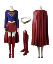 2017 Supergirl Kara Zor El Cosplay Costume
