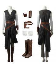 Top Grade Star Wars The Last Jedi Rey Cosplay Costume