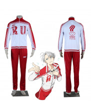Yuri on Ice Victor Nikiforov Cosplay Costume