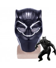 Black Panther T'Challa Mask Helmet Cosplay Prop