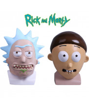Rick and Morty Mask Rick Mask Adult Halloween Latex Masks Cosplay Prop