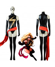 Comic Captain Marvel Ms.Marvel Carol Danvers Cosplay Costume
