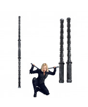 Avengers Infinity War Black Widow Electric Staff Batons Stick Weapon Cosplay Prop Detachable