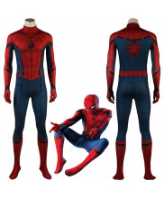 Captain America Civil War Spider-Man Homecoming Cosplay Costume For Adult Kids 3D Printed