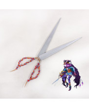 Fate Grand Order Caster Scissors Cosplay Prop