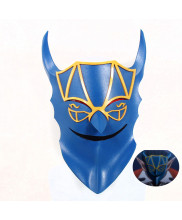 Overlord Demiurge Mask Cosplay Prop