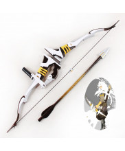 OW Overwatch Shimada Hanzo Okami Skin Bow arrow Cosplay Prop