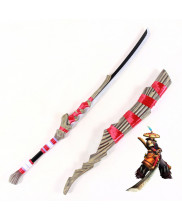 Monster Hunter Portable 3rd Male Yukumo Sword Cosplay Prop