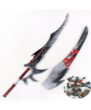 Monster Hunter Shirohayate Knife Blade Cosplay Prop