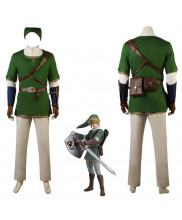The Legend of Zelda Twilight Princess Link Cosplay Costume
