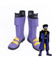Static Virgil Ovid Hawkins DC Comics Cosplay Boots Shoes