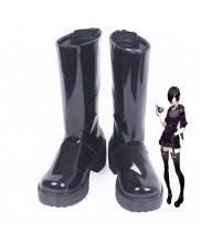 Tokyo Ghoul Touka Kirishima Black Cosplay Boot Shoes