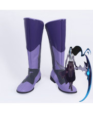 League of Legends LOL The Shadow Reaper Shieda Kayn Cosplay Boots Shoes