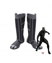 Captain America Civil War Black Panther T'Challa  Cosplay Boot Shoes