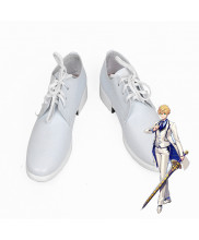 Fate/Grand Order FGO Saber Arthur Pendragon White Cosplay Shoes