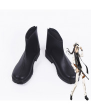 Sword Art Online Kirito Kirigaya Kazuto Black Swordsman Cosplay Black Shoes