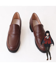 Kakegurui Yumeko Jabami Kirari Momobami School Girls Cosplay Shoes