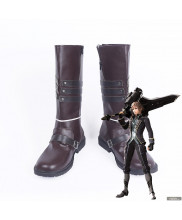 God Eater 2 Rage Burst Julius Visconti Cosplay Boot Shoes