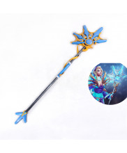 Dota2 Crystal Maiden Ice Crystal Comet Dress Wand Cosplay Prop