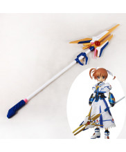 Magical Girl Lyrical Nanoha Nanoha Takamachi Wand Cosplay Prop