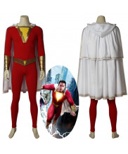Shazam Billy Batson Cosplay Costume Handmade