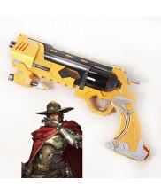 OW Overwatch Jesse Mccree Blackwatch Gun Cosplay Prop