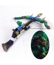 LOL League Of Legends Twitch The Plague Rat Bow Arrow Cosplay Prop