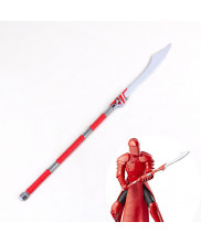 Star Wars The Last Jedi Emperor's Royal Guard Revolving Knife Lance Cosplay Prop