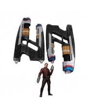 2Pcs Avengers Infinity War Star Lord Gun Weapon Cosplay Props Halloween Props