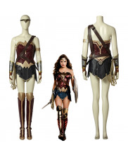 Justice League Wonder Woman Princess Diana Cosplay Costume Female Halloween Outfit