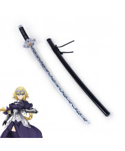 Fate Grand Order Ruler Jeanne d'Arc Sword with Sheath Set Cosplay Prop