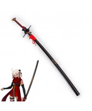 Fate Grand Order Saber Okita Souji Sword with Sheath Set Cosplay Prop