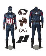 New Captain America 3 Civil War Steve Rogers Cosplay Costume
