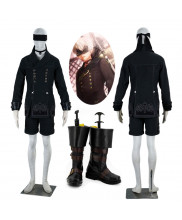 New NieR Automata YoRHa No 9 Type 9S Cosplay Costume