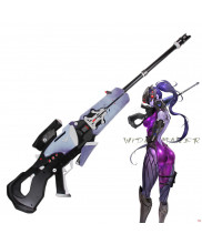 New Overwatch Widowmaker Weapon Pistol Cosplay Props High Density PVC Gun