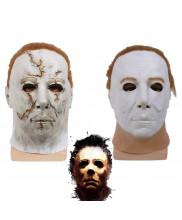 Halloween Michael Myers Mask Latex Cosplay Prop