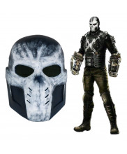 Captain America Civil War Crossbones Mask Helmet PVC Cosplay Prop