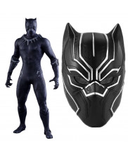 Captain America 3 Cosplay Black Panther Helmet Replica Adult Mask