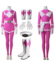 Pink Mighty Morphin Power Rangers Ptera Ranger Cosplay Costume