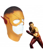 The Flash Season 3 Wally West Kid Flash Mask Latex Cosplay prop