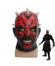 Star Wars Darth Maul Latex Mask Cosplay Prop