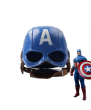 The Avengers Captain America Resin Helmet High Quality Mask Cosplay Prop