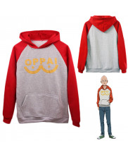 One Punch Man Hero Saitama Oppai Cosplay Hoodie Jacket