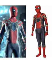 Avengers infinity war spiderman cosplay costume 3D Print