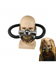 Immortal Joe Mask Mad Max Cosplay Fury Road PVC Half Face Gas Mask