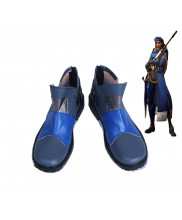 OW Overwatch Ana Amari Cosplay Boots Shoes Customized Size