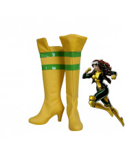 X-Men Rogue Anna Marie Cosplay Boots Shoes Customized Size