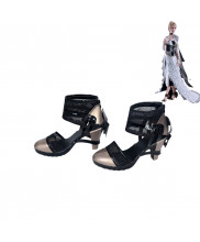 Kingsglaive Final Fantasy XV Lunafreya Cosplay Shoes